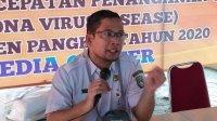 Juru Bicara Tim Gugus Covid-19 Kabupaten Pangkep, dr. Annas Ahmad.