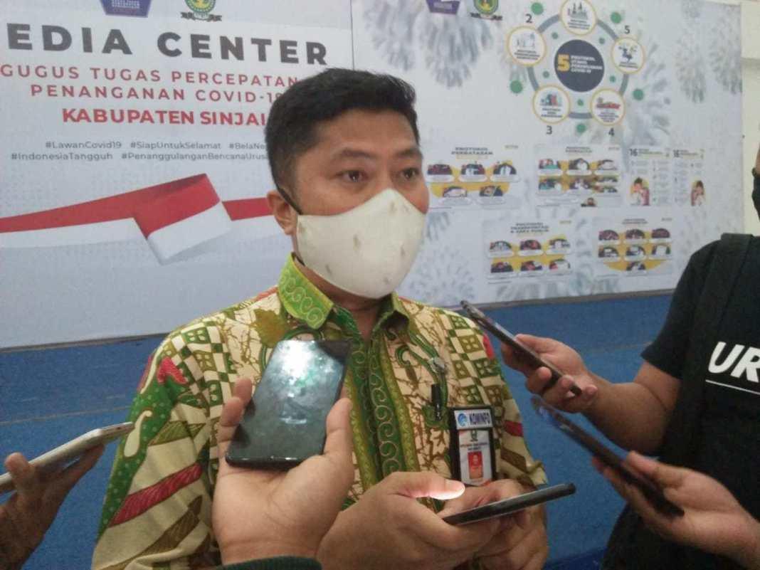 Juru Bicara GTPP Covid-19 Sinjai, Irwan Suaib