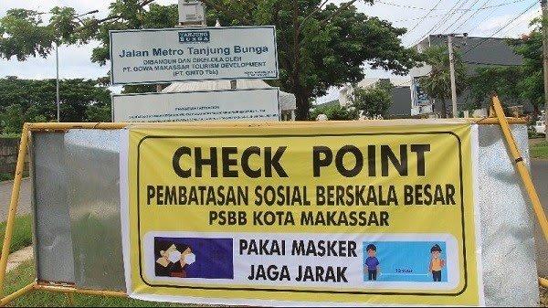 Ilustrasi PSBB Makassar