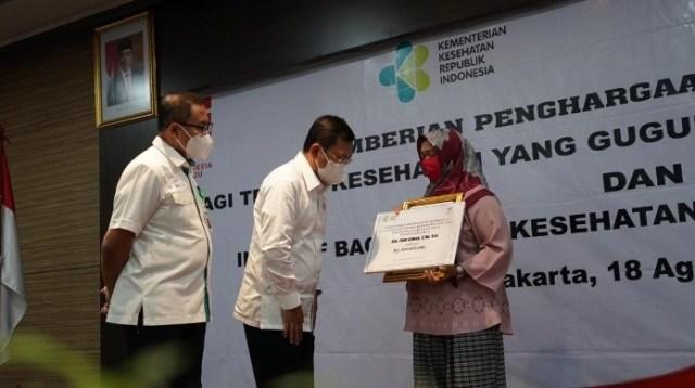 Menteri Kesehatan RI dr Terawan Agus Putranto