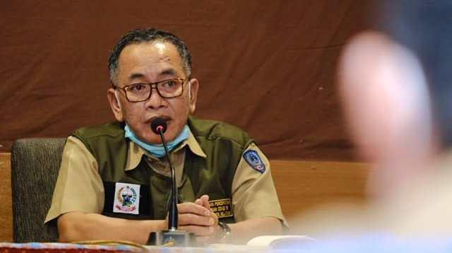 Kepala Dinas Kesehatan Sulsel dr Ichsan Mustari