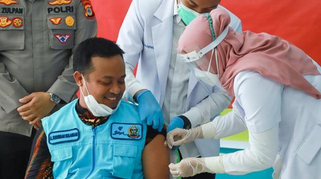 Wakil Gubernur Sulsel Andi Sudirman Sulaiman