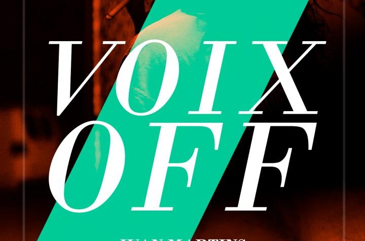 libro Voix off Juan Martins