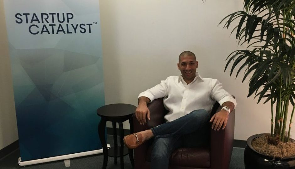 "Sultan Ventures- Photo of Tarik Sultan on ""The Startup Catalyst"" podcast"