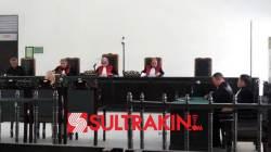 Susana sidang putusan Tony Kongres di Pengadilan Negeri Tipikor/PHI Kelas I A Kendari, Senin (22/10/2018). (Foto: Ifal Chandra/SULTRAKINI.COM).