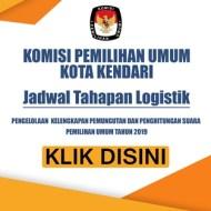 Jadwal Tahapan Logistik Pilpres 2019