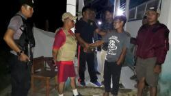 Penangkapan pelaku dipimpin Kapolsek Rumbia, IPTU Muhammad Nur Sultan pada Rabu (7/11/2018) malam. (Foto: Polsek Rumbia/SULTRAKINI.COM)
