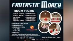 Promo Fantashc March Fortune Frontone Hotel Kendari. (Foto: Istimewa).