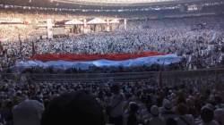 Ratusan ribu pendukung dan simpatisan capres/cawapres Prabowo Subianto dan Sandiaga Uno yang memadati Kampanye Akbar di Stadion Utama GBK Jakarta, Minggu 7 April 2019. (Foto: Istimewa).