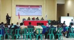 Pleno KPUD Koltim: Prabowo-Sandi 39.948 Suara, Jokowi-Ma'ruf