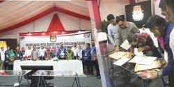 Sah, Hasil Rekapitulasi Pemilu 2019 di Sultra Diterima KPU RI