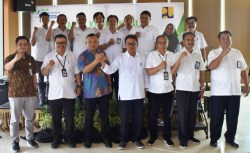 BPJamsostek dan Balai Wilayah Sultra Kementerian PUPR Bahas Pemberian Jaminan Sosial Pekerja Jasa Konstruksi