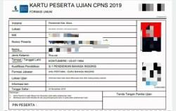 BKPSDM Kendari: CPNS 2019 Cetak Sendiri Kartu SKD