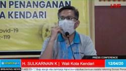 Siap-siap Warga Kendari, Mulai 15 April Wali Kota Disiplinkan Penggunaan Masker