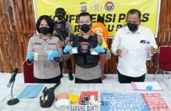 Diduga Kelelahan Dikejar Polisi, Terduga Pelaku Pengguna Narkoba di Baubau Meninggal Dunia