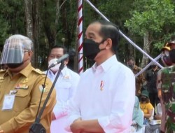 Escorted by 10 Rain Handlers, These are the Details of President Jokowi's Activities in Kendari