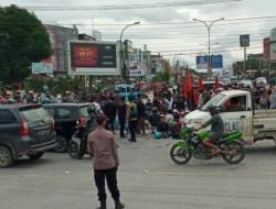 Jokowi Didemo Datang di Kendari