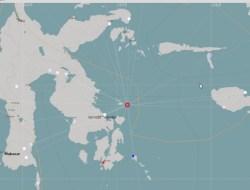 Gempa Bumi Berkekuatan 4,7 SR Guncang Konkep Dirasakan Hingga di Kendari