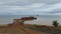 Lokasi Tersus pertambangan PT RJL di Kolaka Utara, (Foto: Ist)