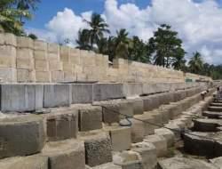 Diduga Sepihak Ubah Breakwater Jadi Talud, BWS IV Kendari Rusaki Pantai Waha Wapia-pia?