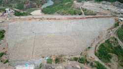 Bendungan Ladongi dalam tahap pembangunan (Foto: Ist)