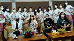 Para finalis PPI Sultra siap memasuki masa karantina. (Foto: Riswan/SULTRAKINI.COM)