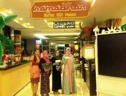 Buffet Ramadan Bertema Hikayat 1001 Malam di Clarion Kendari