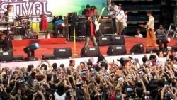 D'Masiv Guncang Pembukaan Festival Cross Border Sanjingan Aruk 2017
