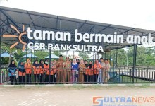 Photo of Salurkan Program CSR, Bank Sultra Buat Taman Bermain Anak di BLUD RS Konawe