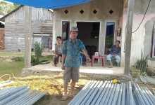 "Photo of Wujudkan ""Konawe Terang"", Desa Lahotutu Programkan Lampu Jalan Mandiri"