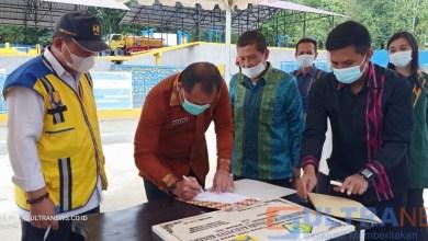 BPPW Sultra Serahkan IPLT, Ferdinand: Kabupaten Konawe Setara Kota Besar