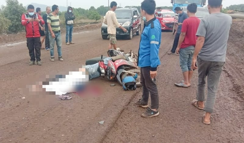 kecelakaan di Morosi