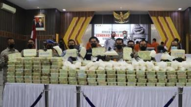 Polda Aceh tangkap ganja
