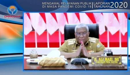 """Sultra Raih Predikat """"Zona Hijau"""" Terkait Pelayanan Publik"""