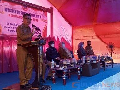 Hadiri Musrenbang Perdana di Kecamatan Ueesi, SBM Sahuti Usulan Priortias Masyarakat