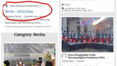 Patut Diapresiasi, Desa Wonggeduku Masuk Kategori Tercepat Pendataan SDGS se-Indonesia