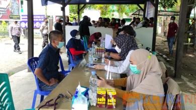 394 Masyarakat Lokal Ikuti Vaksinasi Massal di Polsek Kolaka