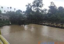 Breaking News: Waspada! Curah Hujan Kian Meningkat, Sungai Wanggu Kendari Meluap