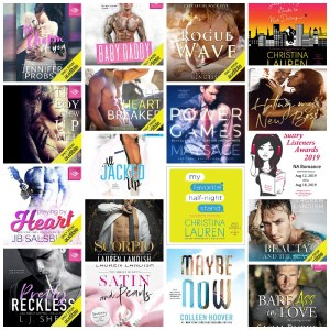 2019 New Adult #SultryListeners Semi-Finals Sneak Peek Covers and Samples