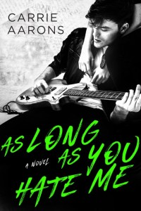 Release Blitz & Review: As Long As You Hate Me by Carrie Aarons
