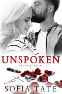 Unspoken by Sofia Tate Release & Review