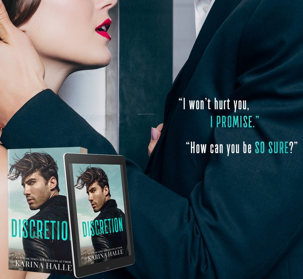 Discretion by Karina Halle Teaser 1