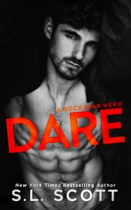DARE – A Rock Star Hero by S.L. Scott Release & Review