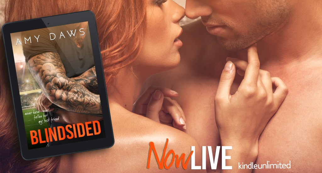 Blindsided by Amy Daws Now Live