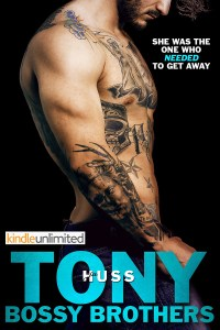 Bossy Brothers: Tony by JA Huss Release & Review