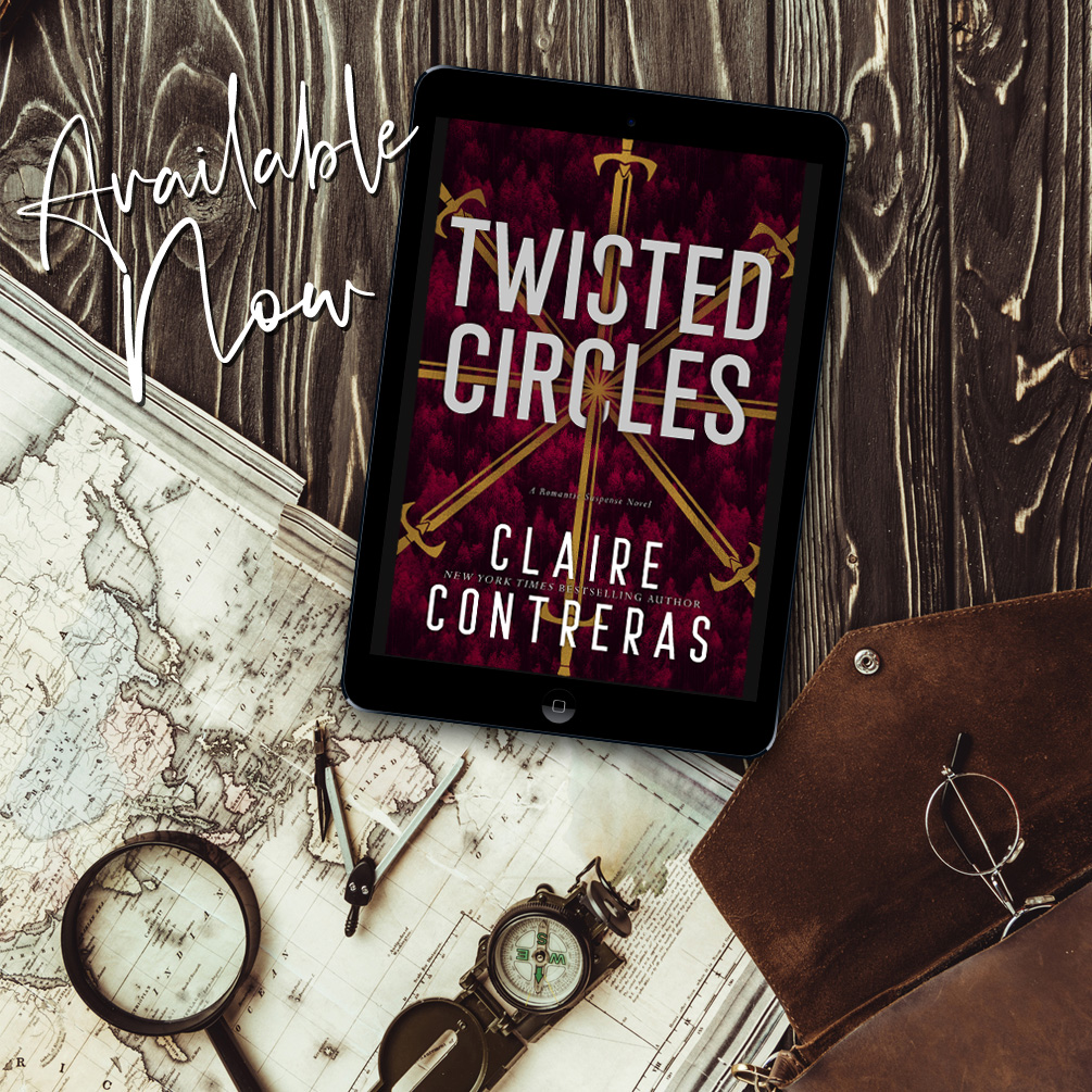 Twisted Circles by Claire Contreras is now live