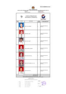 Pengumuman Daftar Calon Sementara DPRD Kabupaten Minsel