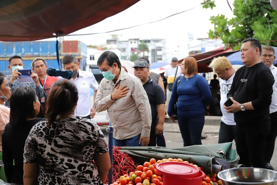 Berita Penutupan Pasar dan Jalan Hoaks, Warga di Himbau Ikuti Petunjuk Walikota Manado