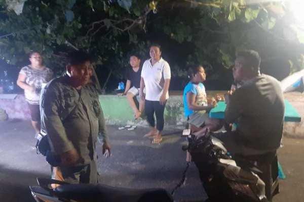Cegah Covid-19, Satpol PP Manado Keliling Kota Beri Imbauan Warga