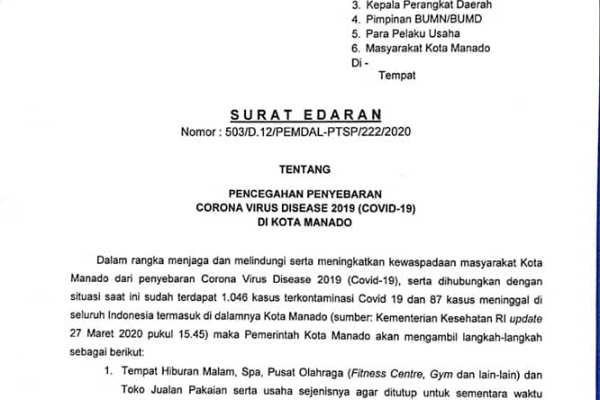 Toko Ritel, Warung Sembako dan Rumah Makan Tetap di Buka. Kabag Pem-Humas : Kabar Toko Sembako di Tutup Sementara itu Hoaks